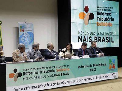 Frente Parlamentar é lançada por uma reforma tributária solidária